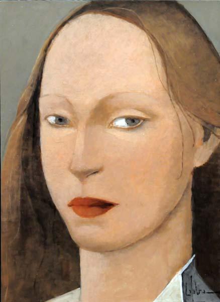 Pierre LEFEBVRE - Femme, collet blanc