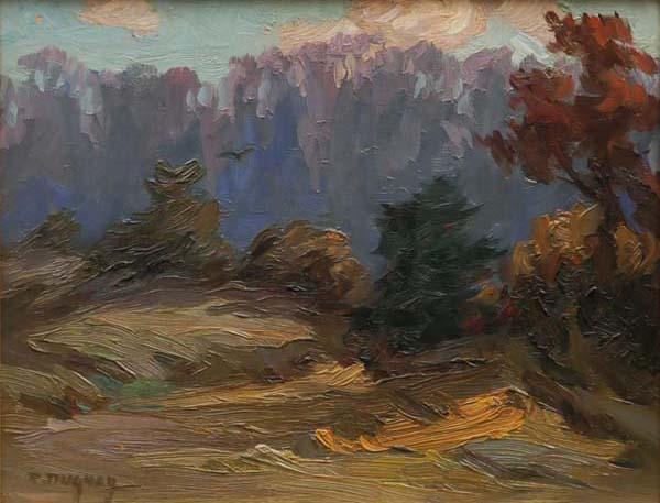 Paysage (1945) - Rodolphe Duguay