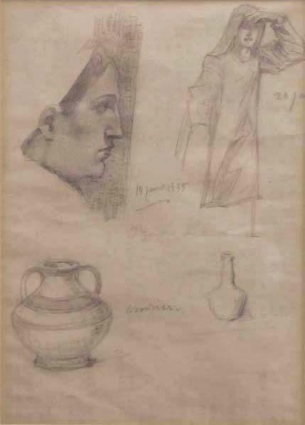 Ozias LEDUC - Études (c. 1935)