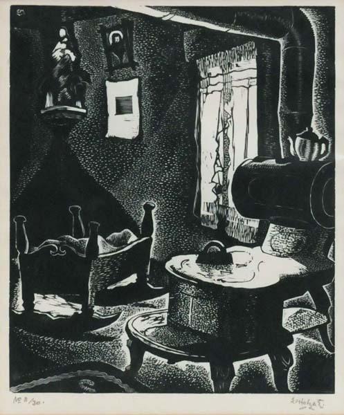 Edwin HOLGATE - Cuisine du Labrador no. 1 (1930)