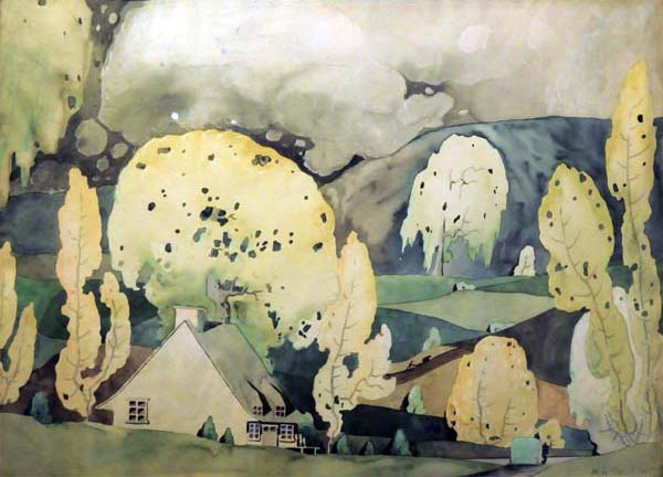 Paysage d été (c. 1924) - Marc-Aurèle Fortin