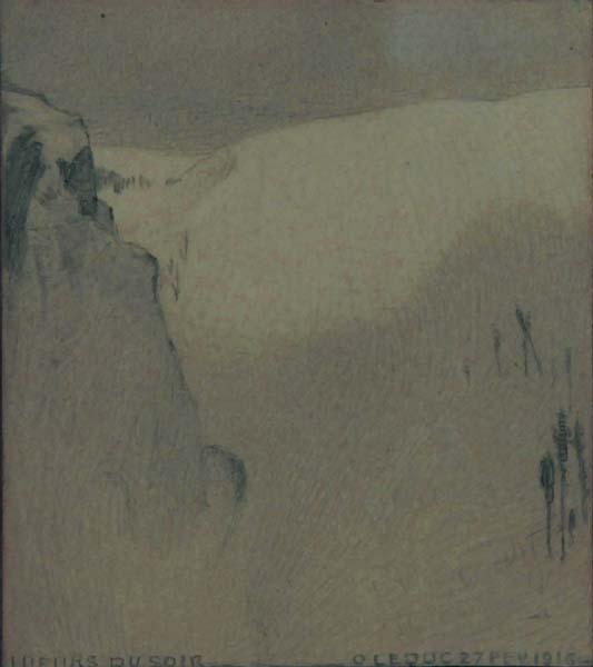 Ozias LEDUC - Lueurs du soir (1916)