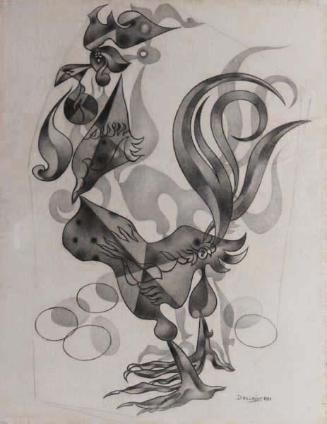 Jean DALLAIRE - Le coq (1951)