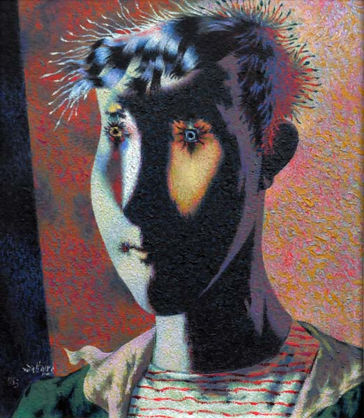 Jean DALLAIRE - Head of a Young Boy (1953)