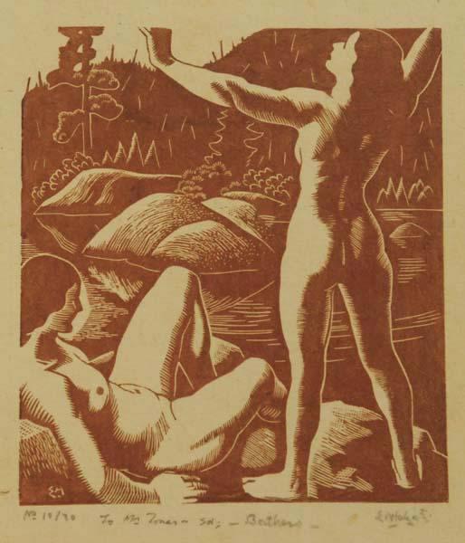 Edwin HOLGATE - Bathers 10/30 (1930)
