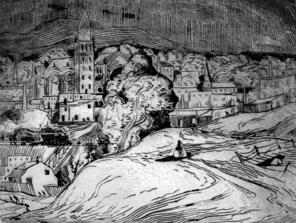 Marc-Aurèle FORTIN - Paysage de Hochelaga (c. 1930)