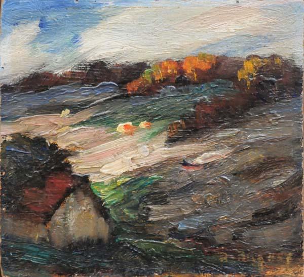 Sans titre (c. 1945) - Rodolphe Duguay