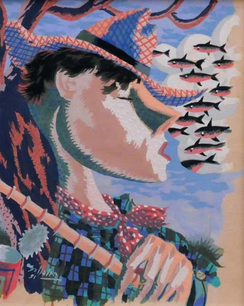Jean DALLAIRE - Sans titre (1951)