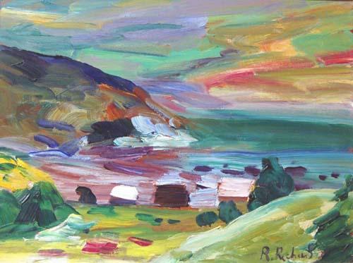 René RICHARD - Baie St-Paul (c. 1958)