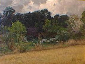 Marc Aurèle SUZOR-CôTé - Lisière de bois à Hizières, France (1898)