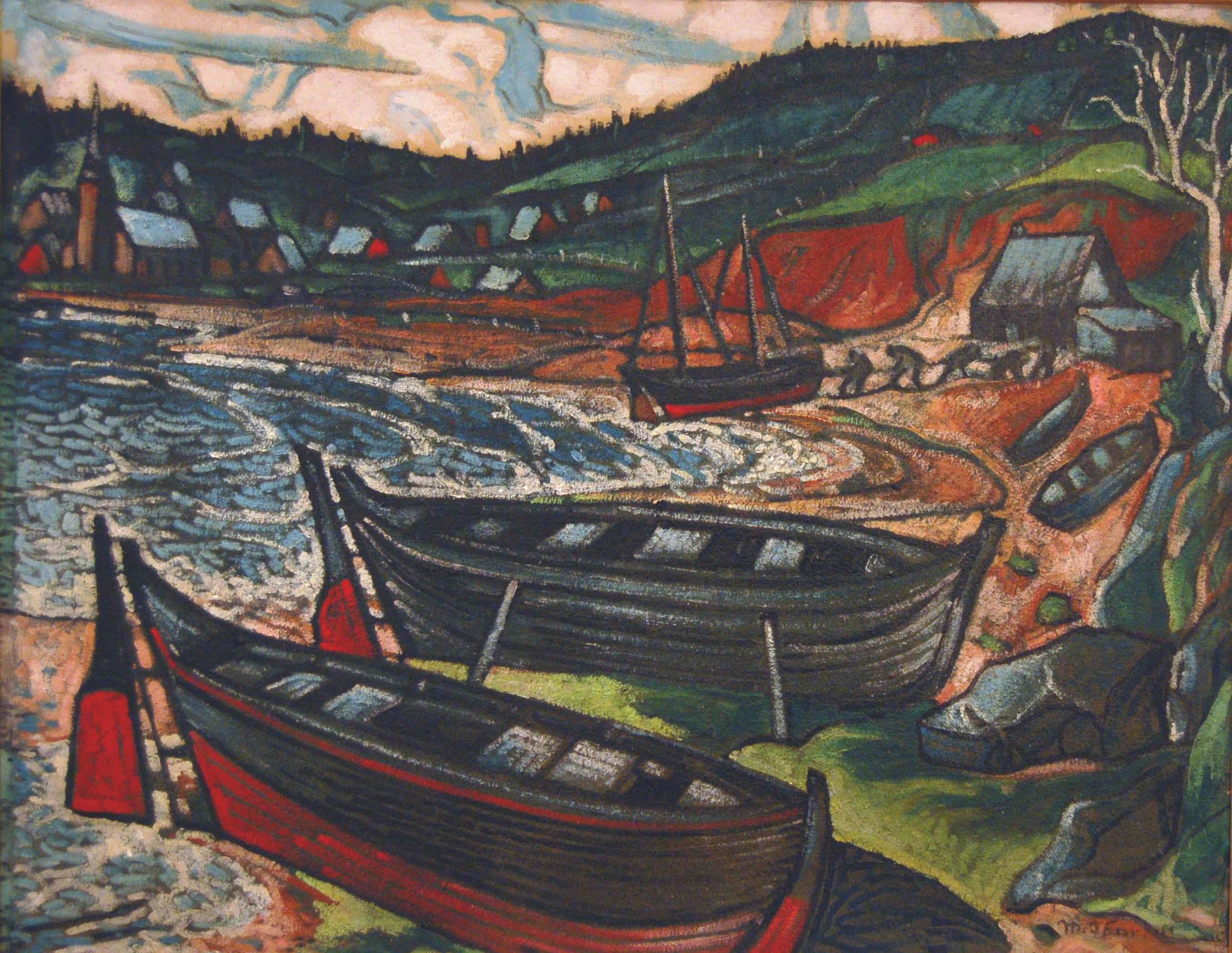 Gaspésie (c. 1943) - Marc-Aurèle Fortin