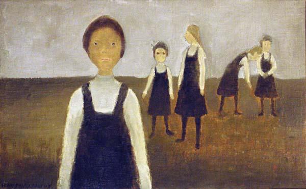 Jean Paul LEMIEUX - La récréation (1964)