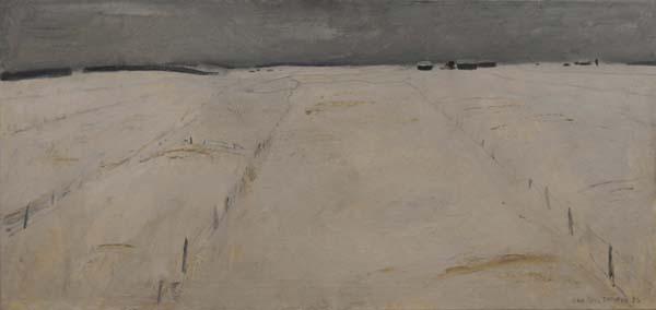 Jean Paul LEMIEUX - Les champs blancs (1956)