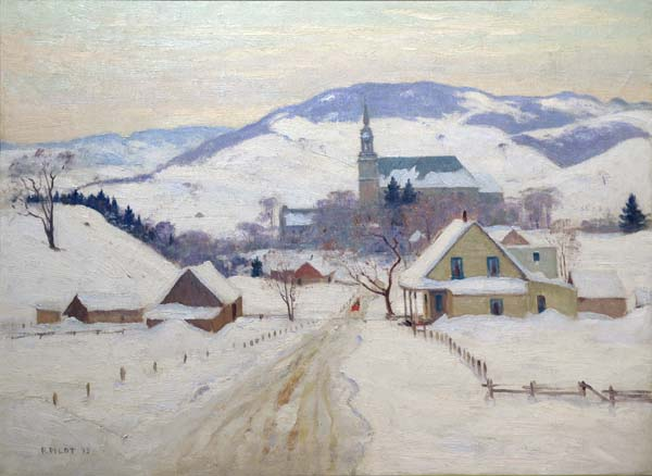 Robert PILOT - Towards Evening, St. Sauveur (1935)