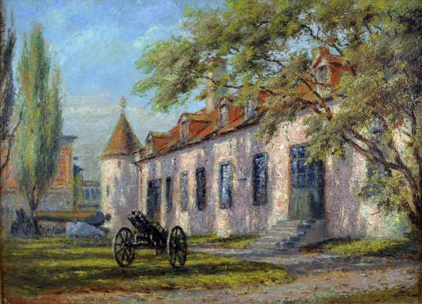 Georges DELFOSSE - Château Ramezay (c. 1920)