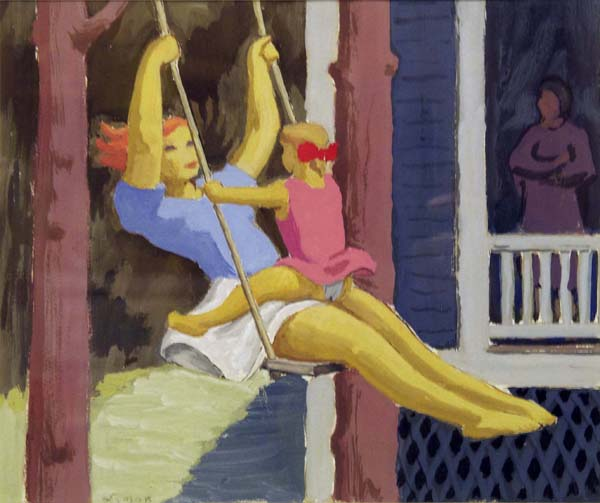 John LYMAN - The Swing (c. 1935)
