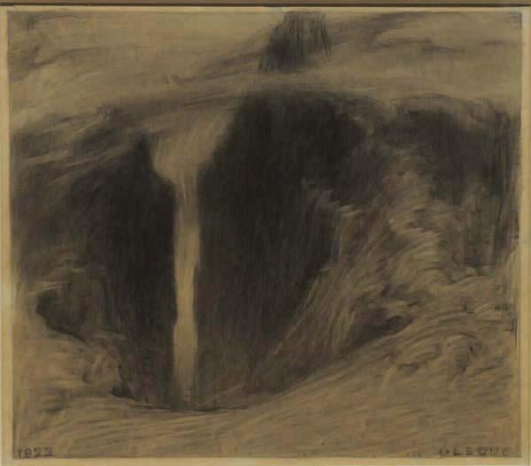 Ozias LEDUC - Paysage (1922)
