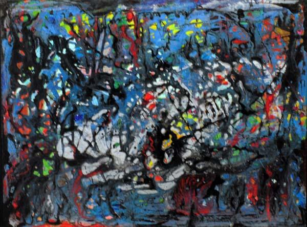 Fritz BRANDTNER - Abstraction (c. 1952)