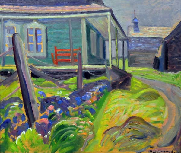 Anne SAVAGE - Metis Beach, QC. (c. 1940)