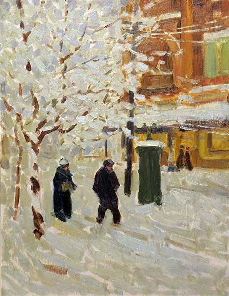 Helen MCNICOLL - Montréal en hiver (c. 1911)