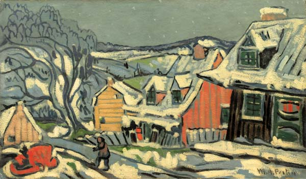 Baie St-Paul (c. 1936) - Marc-Aurèle Fortin
