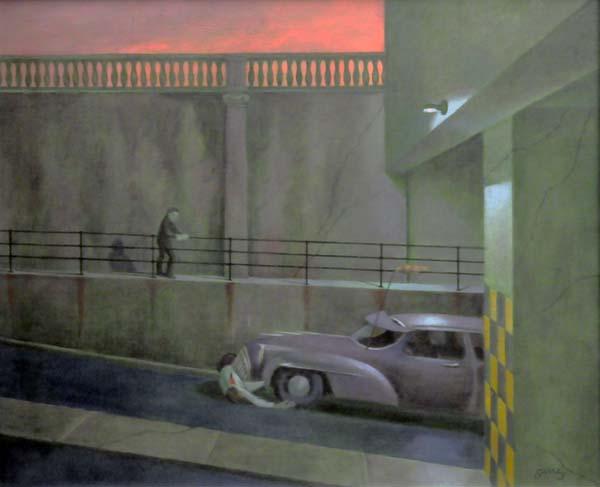 Philip SURREY - Impaled Man, 1973 (Rue St-Rémi et St-Jacques)
