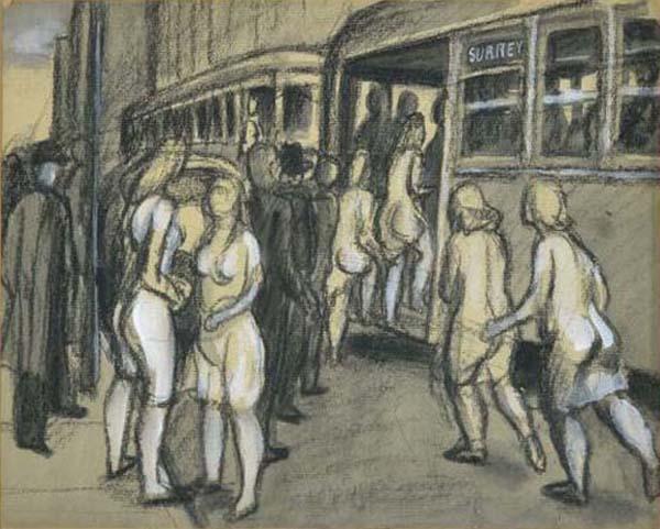 Philip SURREY - The Passenger, c. 1955 (Rue St-Jacques)