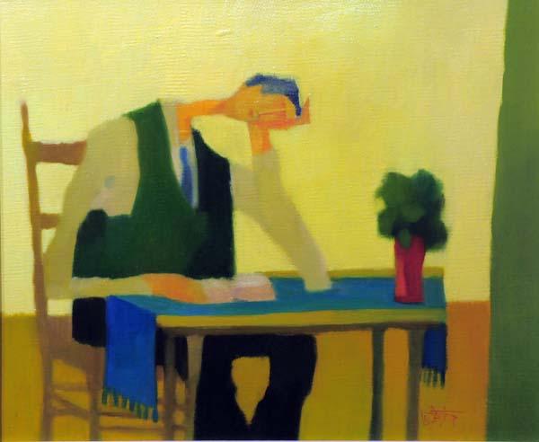 Claude LESAUTEUR - Étude pour l'étudiant (1981)