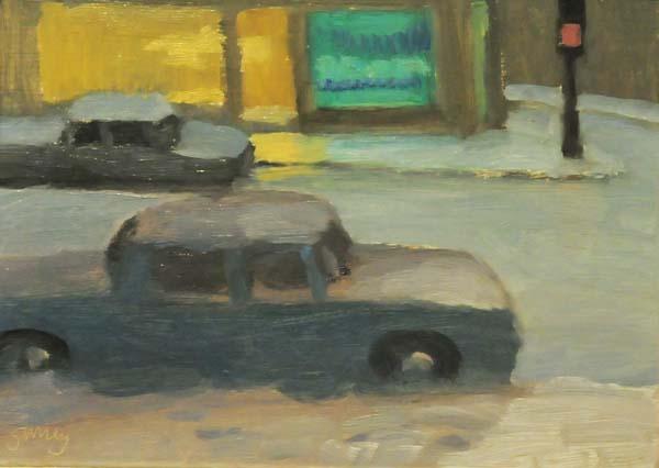 Philip SURREY - Snowy Night (c. 1955)