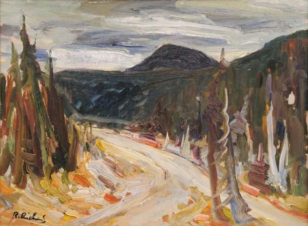 René RICHARD - Paysage du Nord (c. 1960)