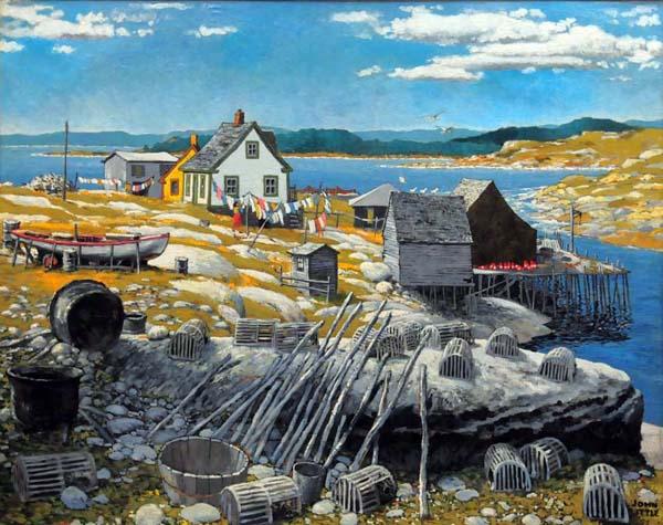 John LITTLE - Peggy's Cove (1955)