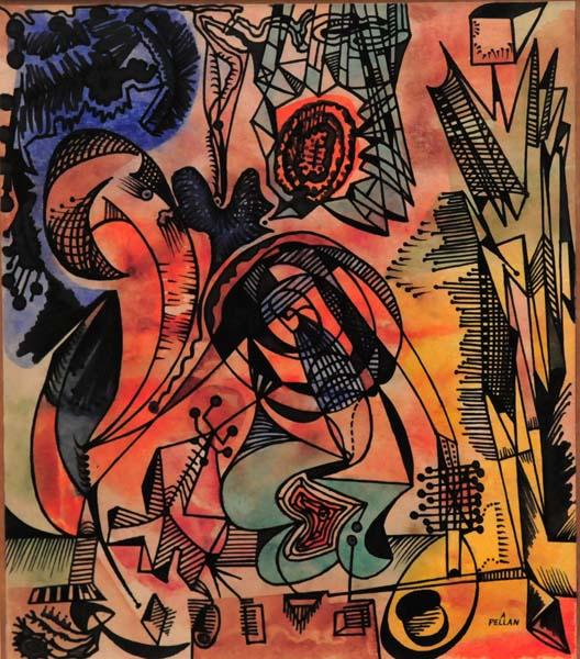 Alfred PELLAN - Dépaysement (c. 1945)