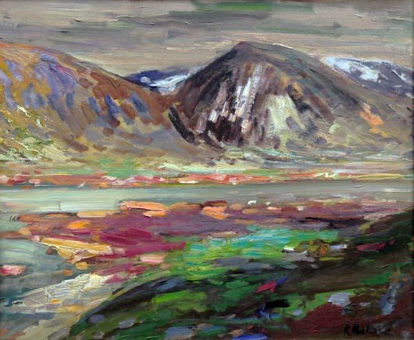 René RICHARD - Fond du Fjord, Adlayik (c. 1953)