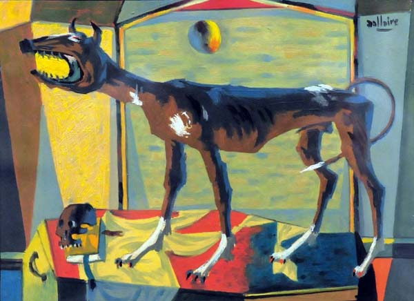 Jean DALLAIRE - Le chien de garde (c. 1952)