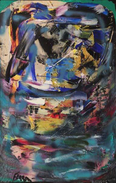 Marcelle FERRON - Sans titre (c. 1972)