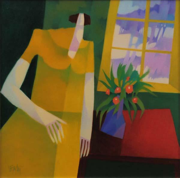 Claude LESAUTEUR - Femme au soleil (1993)