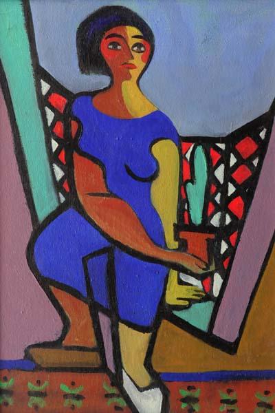Jean SOUCY - La jardinière (1945/46)