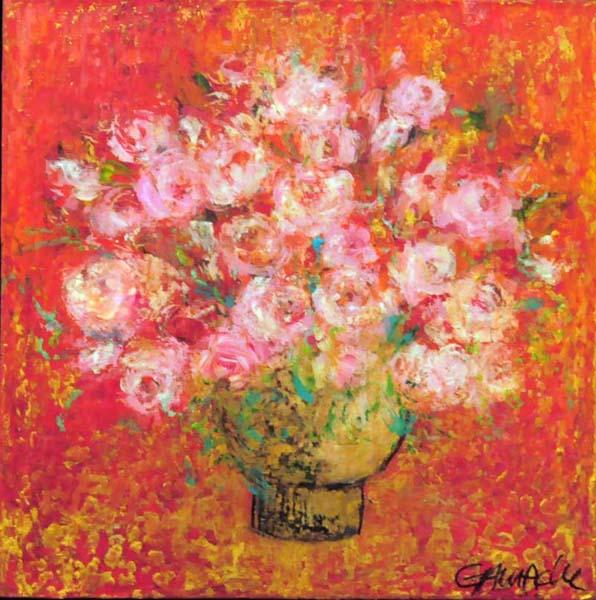 Élène GAMACHE - Roses rouges