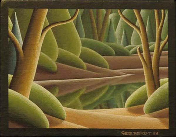 Christian DEBERDT - Auprès de mon lac (1996)