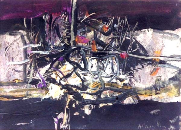Edmund ALLEYN - Sans titre (1961)