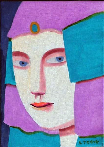 Louise SCOTT - Portrait no. 2 (1998)
