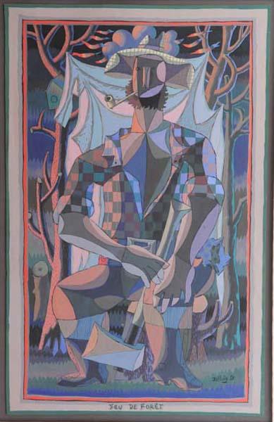 Jean DALLAIRE - Feu de forêt (1950)