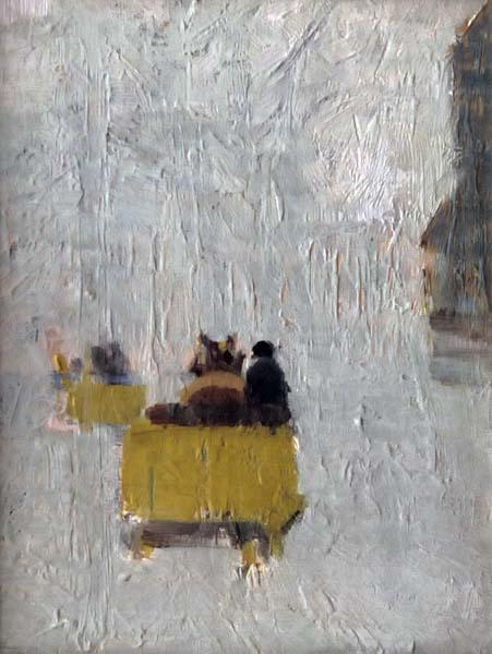 Helen MCNICOLL - Hiver, Montréal (1910)