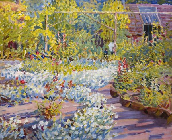 Helen MCNICOLL - Jardin (1910)
