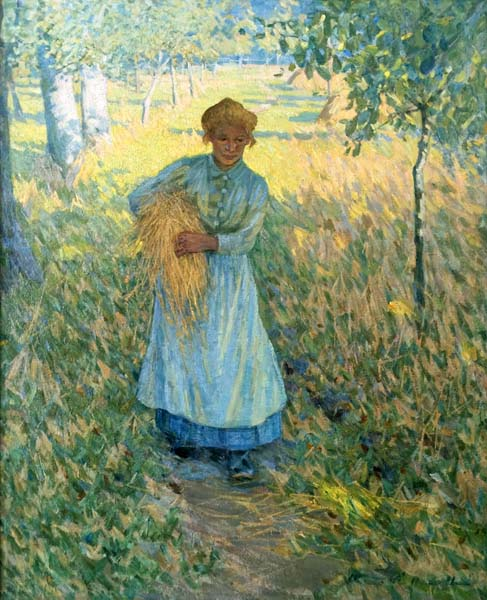 Helen MCNICOLL - The Gleaner (c. 1910)