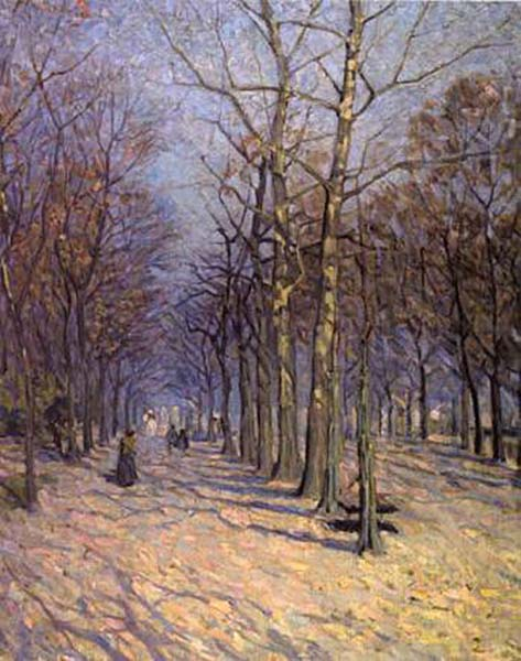 Helen MCNICOLL - The Avenue (1912)