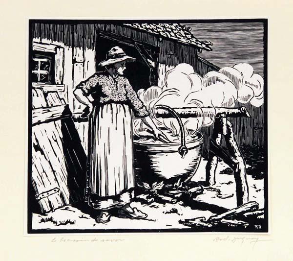Rodolphe DUGUAY - Le bassin de savon (1935)