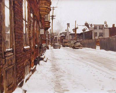 John LITTLE - Rue Fleury (1979)
