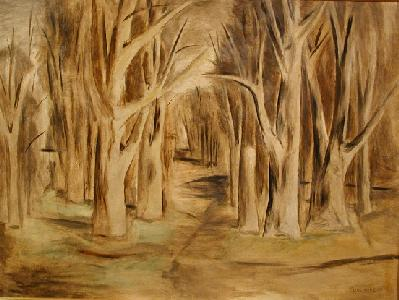 Stanley COSGROVE - Forest (1949)