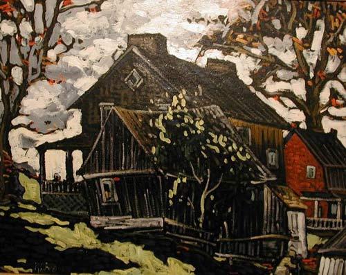Marc-Aurèle FORTIN - La maison Fortin, Ste Rose, 1935